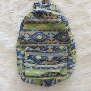 Aztec Print Pastel Mini Backpack